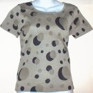 NEW  ALFANI  Womens silk T-shirt  Size small