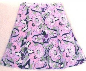 BYERWEAR  Womens/Juniors floral print skirt  Size 7
