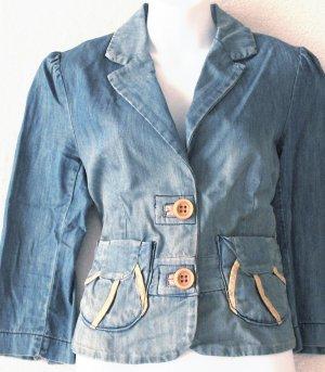 MIMO  Juniors denim blazer-style jacket  Size large