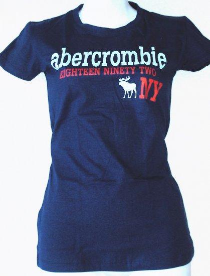 ABERCROMBIE & FITCH  Womens/Juniors logo T-shirt  Size M