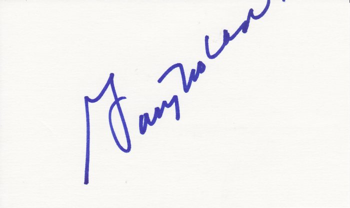 Gary Nolan Autograph Signed index card! Cincinnati Reds