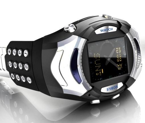 V2.1 Watch mobile phone with keyboard and Camera