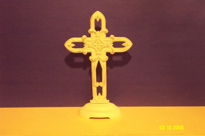 Iron Pedestal Cross