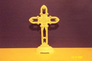 Iron Pedestal Cross