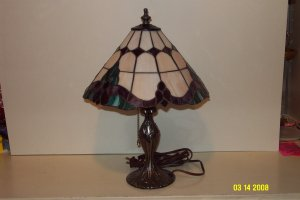 Tiffany Look-Alike Lamp