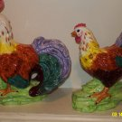 Ceramic Rooster Set