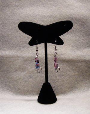 LC983E- Swirled Dangle Earrings