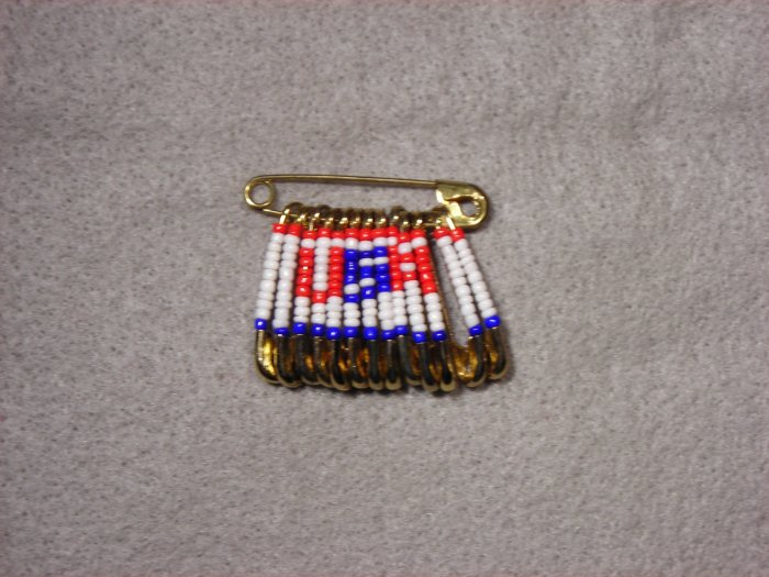 LC802F - Med Patriotic Friendship pins