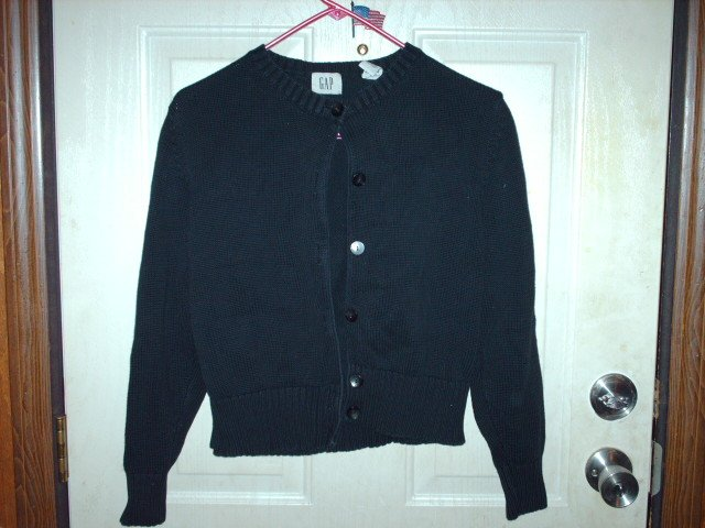 Girl's Gently Used Gap Black Sweater for Girls Size Medium