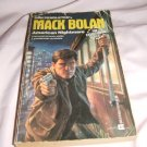 Don Pendleton's Mack Bolan Executioner 107 American Nightmare ISBN 0-373-61107-2