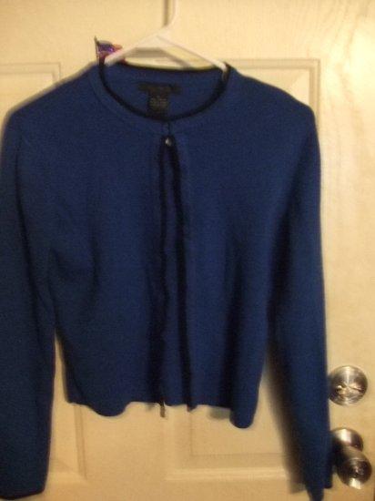 Gently Worn Limited Royal Blue Cardigan Size Medium