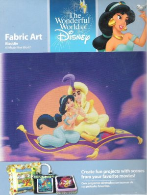 Aladdin Fabric Art A Whole New World