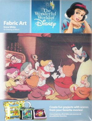 Snow White Fabric Art An Evening of Music
