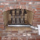 Fireplace Furnaces -120,000 BTU Wood Burning Fireplace Grate Heater Hearth Heat Exchanger w/Blower