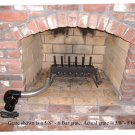 Fireplace Furnaces - 30,000 BTU Wood Burning Fireplace Grate Heater Heat Exchanger w/Blower