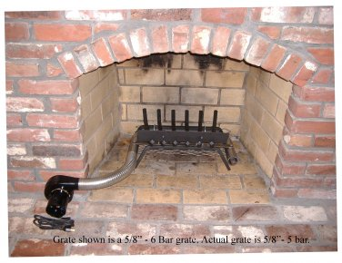Fireplace Furnaces - 30,000 BTU Wood Burning Fireplace ...