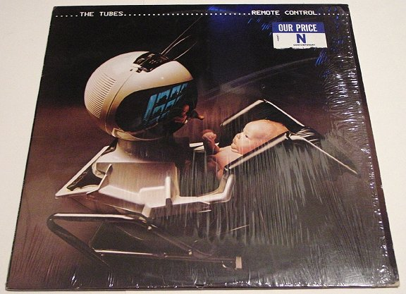 The Tubes * REMOTE CONTROL * Original LP with Shrinkwrap + photos 1979 Mint