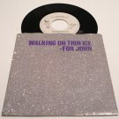 Yoko Ono * WALKING ON THIN ICE * Original 45rpm with Pictire Sleeve Rare 1981 Mint