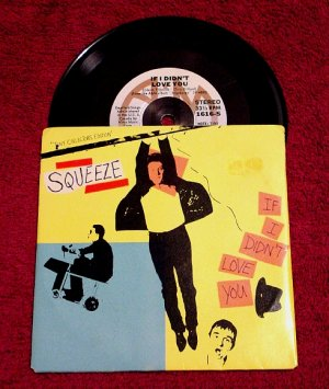 "SQUEEZE Original 5"" MiniDisc * If I Didn't Love You * 1980 Rare MINT"