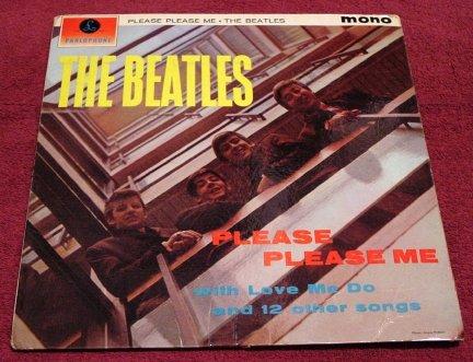 The Beatles * PLEASE PLEASE ME * Original 1963 Parlophone UK Mono LP Rare Mint