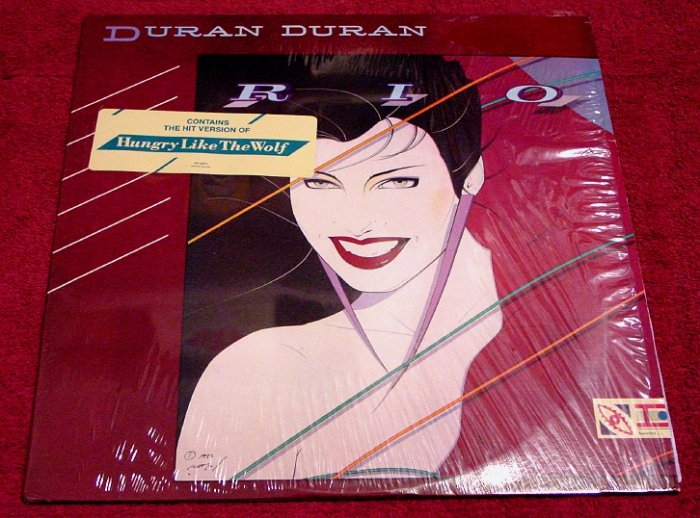 Duran Duran * RIO * Original LP 1982 with Shrinkwrap Rare Mint