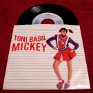 Toni Basil * MICKEY * Original 45rpm with Picture Sleeve 1982 Mint