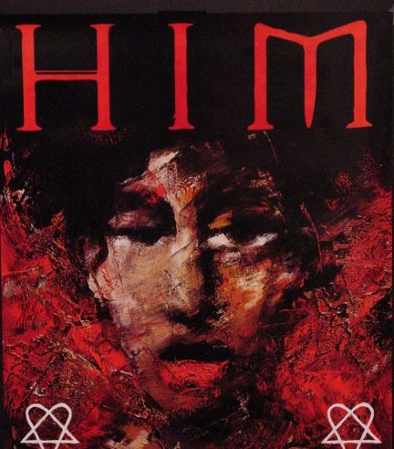 Him * VENUS DOOM * Original Poster 2' x 2' Rare 2007 MINT