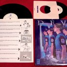 DEVO * New Traditionalists * Original LP with Poster & 45rpm & Sticker 1981 MINT
