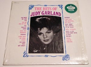 Judy Garland * THE HITS OF * Original Capitol LP with Shrinkwrap 1963 Mint