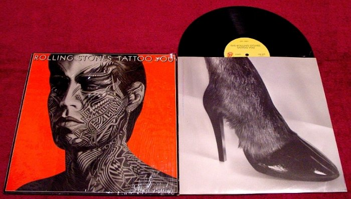Rolling Stones * TATTOO YOU * Original LP Record with ShrinkWrap 1981 Mint