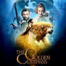 THE GOLDEN COMPASS Original Movie Poster * NICOLE KIDMAN * Huge 4' x 6' Rare 2007 Mint