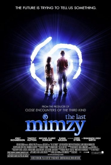 Padgett's THE LAST MIMZY Original Movie Poster Huge 4' x 6' Rare 2007 Mint