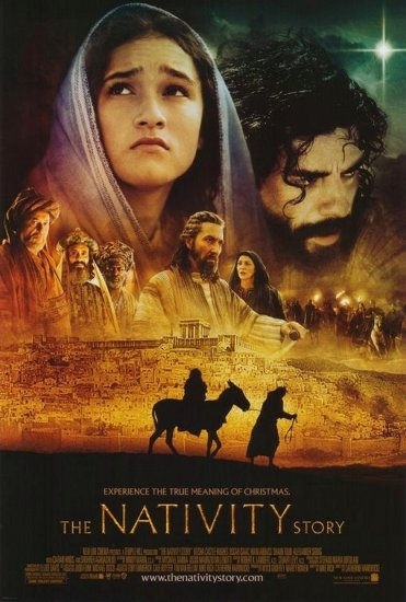 THE NATIVITY STORY Original Poster * KEISHA CASTLE-HUGHES * Huge 4' x 6' Rare 2006 Mint