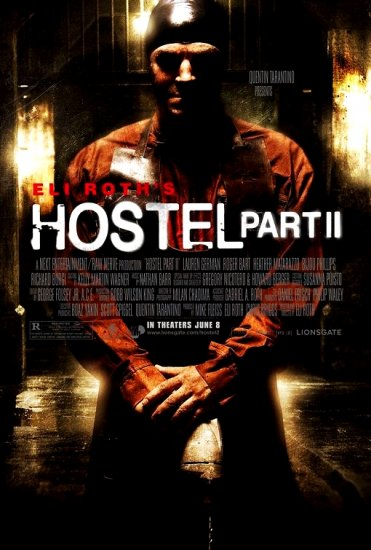 Eli Roth's HOSTEL Part 2 Original Movie Poster * BIJOU PHILLIPS * Huge 4' x 6' Rare 2007 Mint