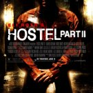 Eli Roth's HOSTEL Part 2 Original Movie Poster * BIJOU PHILLIPS * Huge 4' x 6' Rare 2007 Mint