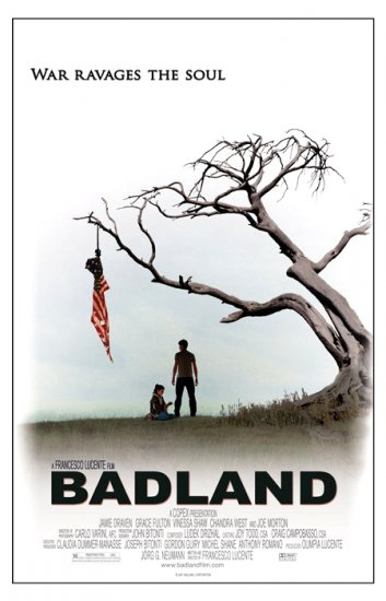 "BADLAND Original Movie Poster * JAMIE DRAVEN * 27"" x 40"" Rare 2007 Mint"