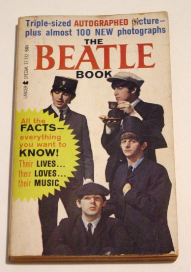 The Beatle Book * The Beatles * PaperBack Book 1964 MINT+