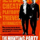 "THE HUNTING PARTY Orriginal Movie Poster * RICHARD GERE & TERRANCE HOWARD * 27"" x 40"" Rare 2007 Mint"