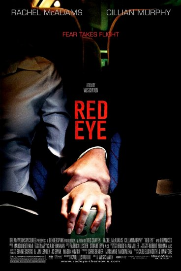 Wes Craven's RED EYE Original Movie Poster * RACHEL McADAMS * 2' x 3' Rare 2005 Mint