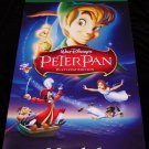 Walt Disney's PETER PAN Original Movie Poster 2' x 4' Rare 2007 Mint