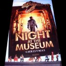 NIGHT AT THE MUSEUM Original Movie Poster * BEN STILLER * 2' x 4' Rare 2006 Mint
