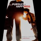 THE PURSUIT OF HAPPINESS Original Movie Poster * WILL SMITH * 2' x 4' Rare 2007 Mint