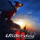 Disney's UNDERDOG Original Movie Poster * JIM BELUSHI * Huge 4' x 6' Rare 2007 Mint