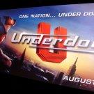 Disney's UNDERDOG Original Movie Poster * WIDESCREEN * Huge 3' x 6' Rare 2007 Mint