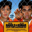 Harold & Kumar ESCAPE GITMO Original Movie Poster 2' x 3' Rare 2008 Mint