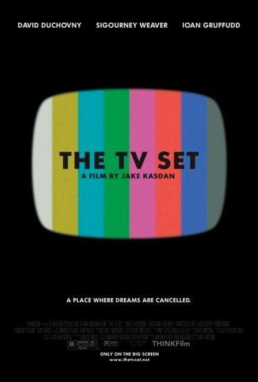 "THE TV SET Original Movie Poster * DAVID DUCHOVNY * 27"" x 40"" Rare 2007 Mint"