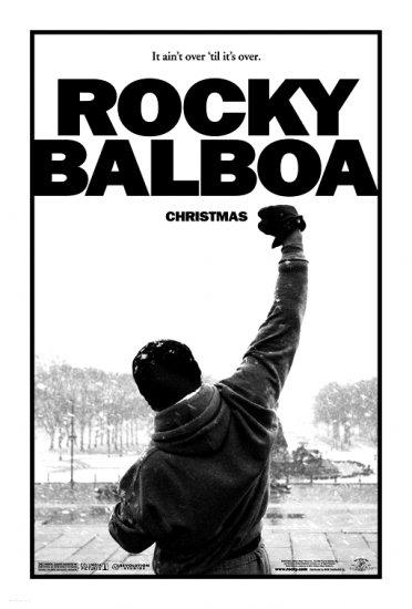 Rocky Balboa ROCKY 6 Original Movie Poster * Sylvester Stalone * HUGE 4' x 6' Rare 2006 Mint