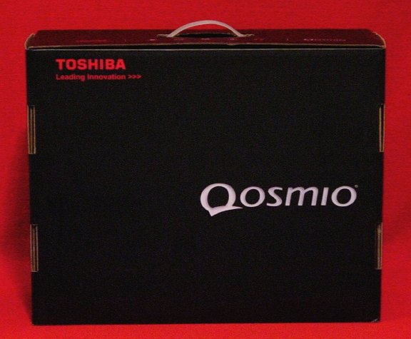 "Toshiba Qosmio * BOX ONLY * for 15"" 1.66ghz F45-AV410 NEW"