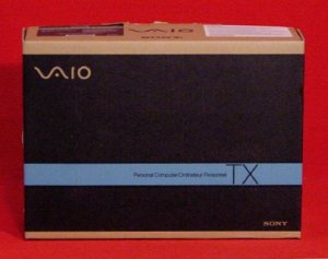 "Sony Vaio * BOX ONLY * for 11""inch 1.33ghz TX N27N/W Laptop NEW"