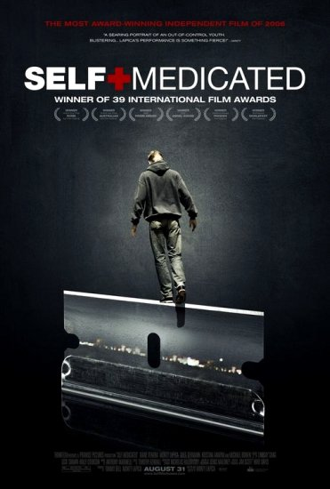"SELF-MEDICATED Movie Poster 27"" x 40"" Rare NEW 2007"
